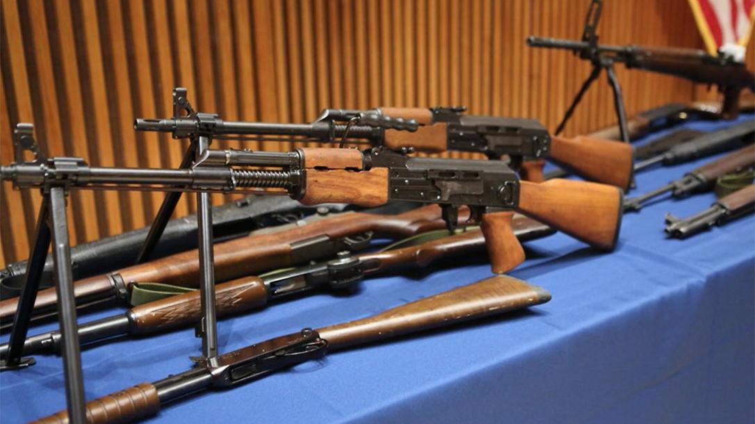 nypd seizure rifles