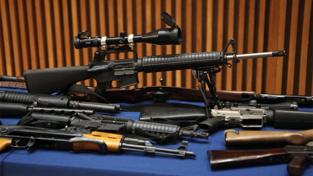 nypd seizure scoped rifle