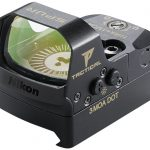 Nikon P-Tactical Spur sight front angle