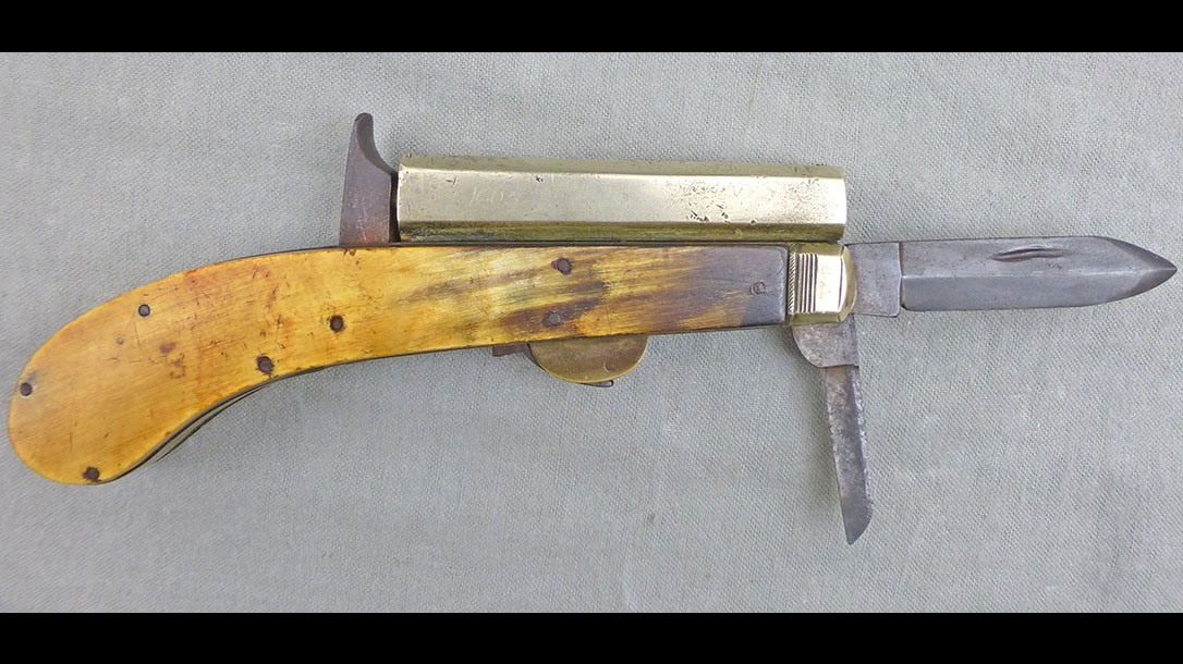 old west concealed weapons james rogers knife pistol
