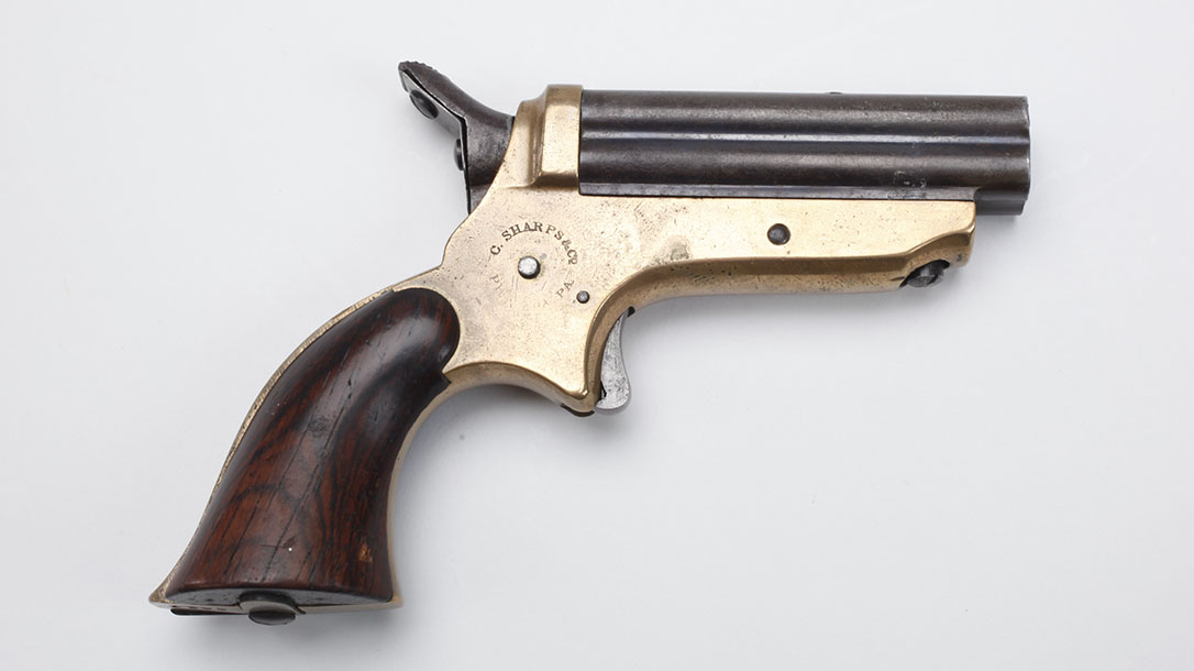 old west concealed weapons sharps derringer