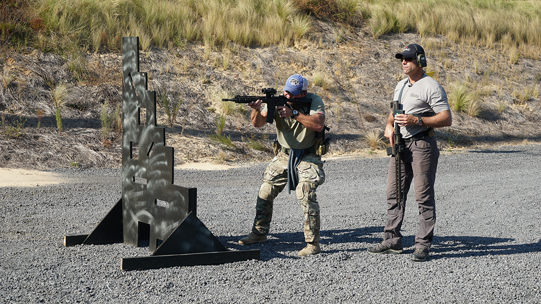 operation blue training carbine shooting