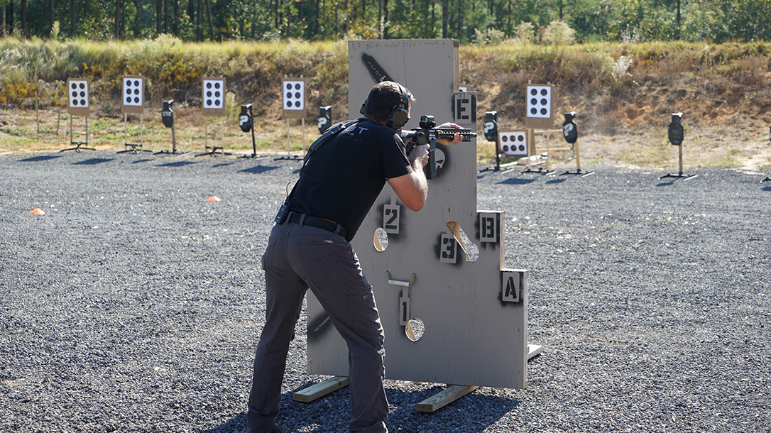 operation blue training carbine target