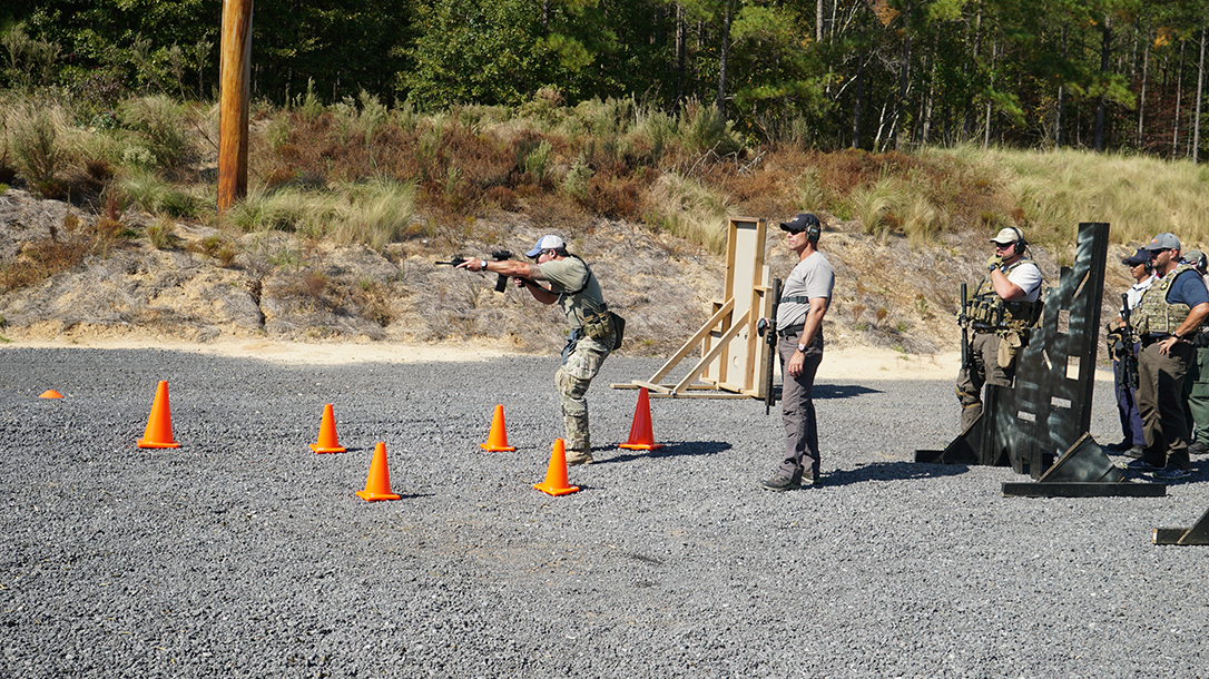 operation blue training carbine range shooting