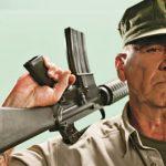 r. lee ermey rifle