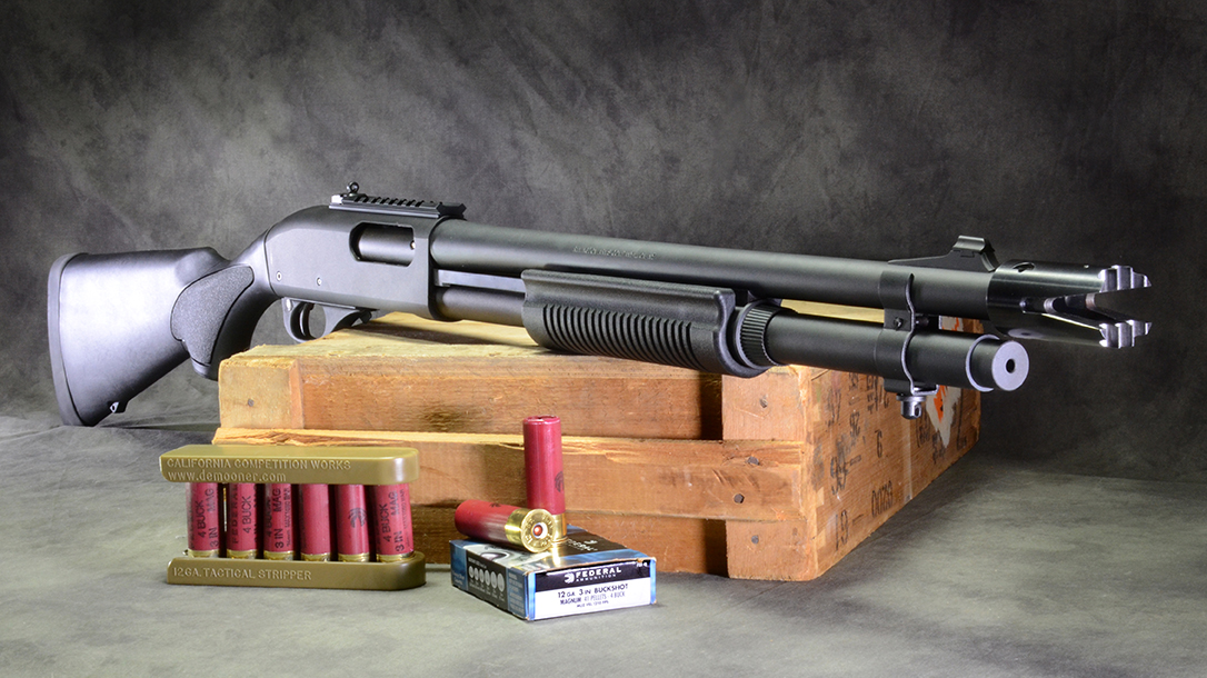 remington 870 express tactical shotgun right angle