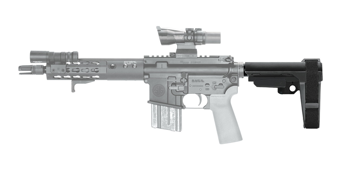 SB Tactical SBA3 AR Pistol Brace left profile