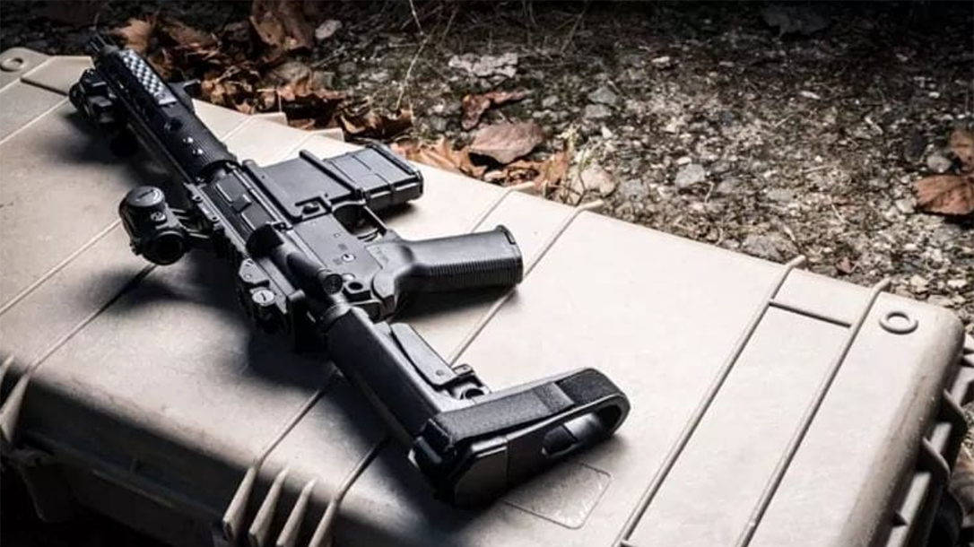 SB Tactical SBA3 AR Pistol Brace case