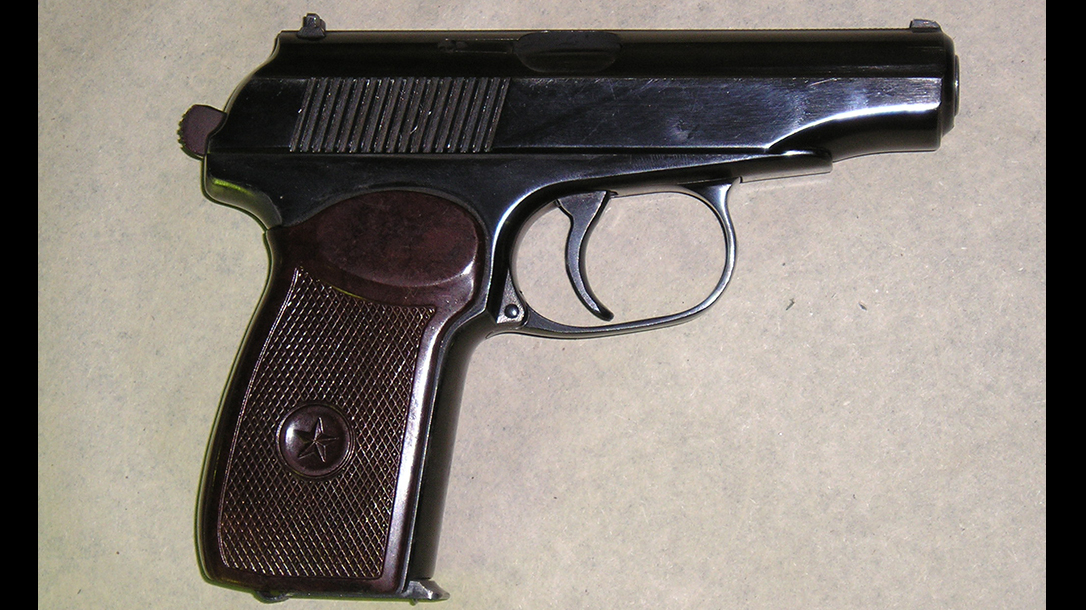 soviet pistols Makarov PM