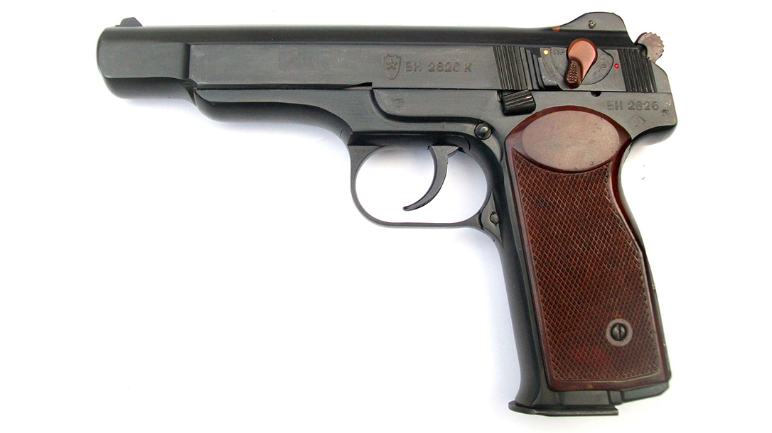 soviet pistols Stechkin APS left profile