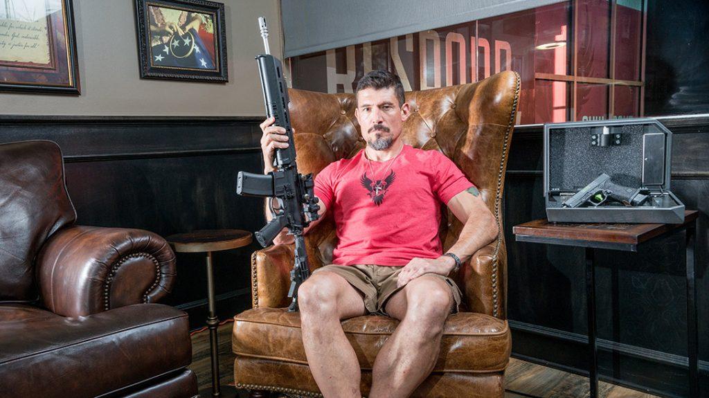 AR platform rifle, ownership, Kris Tanto Paronto
