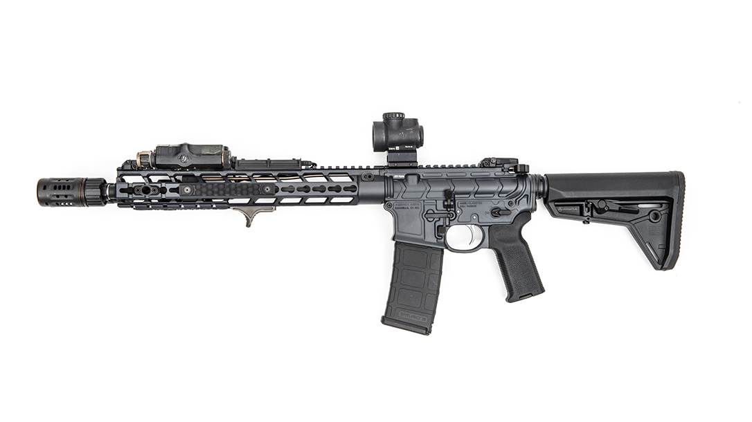 Agency Arms Classified Rifle review profile left