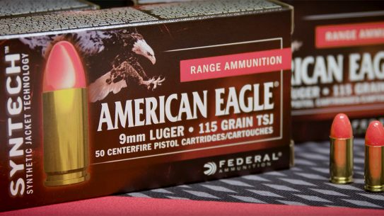 FBI 9mm ammo contract, training round, federal premium, American Eagle