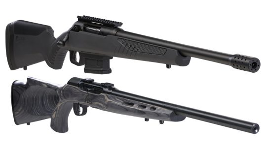 savage arms model 110 wolverine a22 target thumbhole rifles
