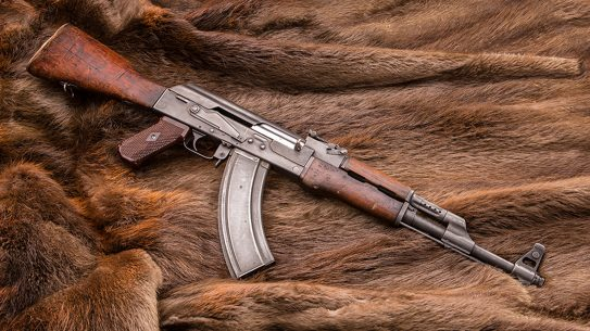 AK-47 Type 1 rifle left profile