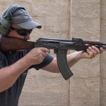 AK-47 Type 1 rifle shooting