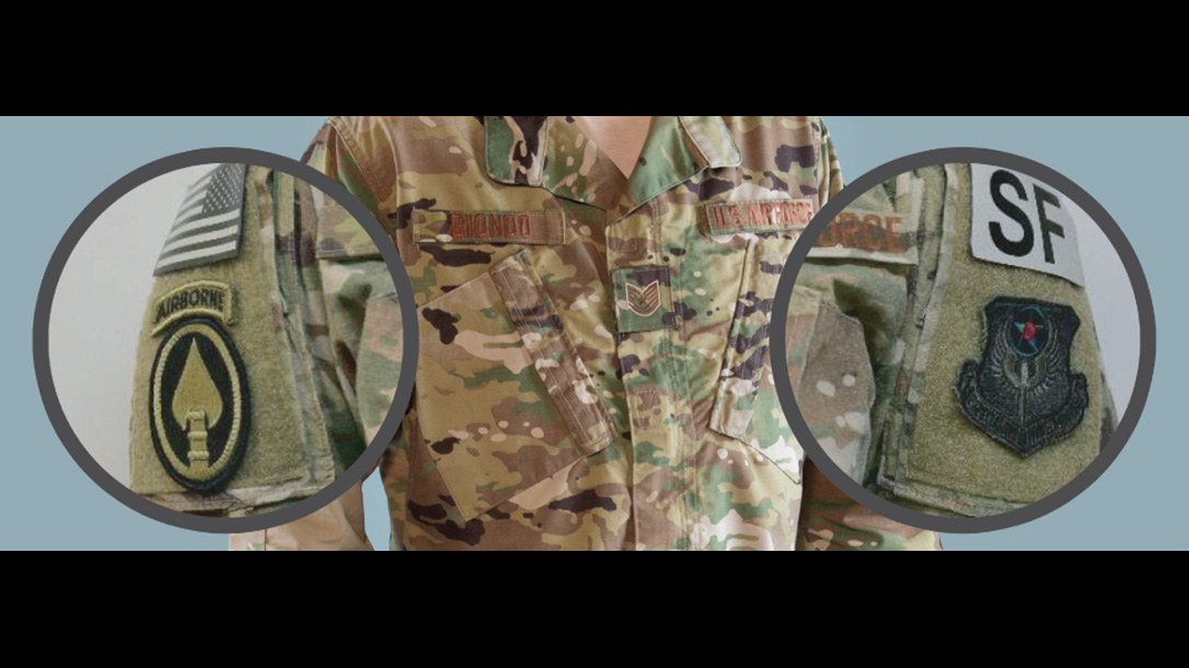 new air force uniform patches
