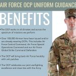 new air force uniform benefits