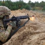 ARMY m4a1 carbine training