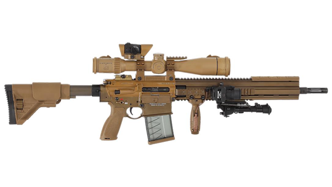 Sig TANGO6 squad designated marksman rifle hk g28