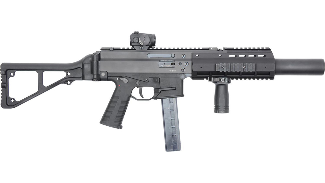 B&T APC45 SD carbine right profile