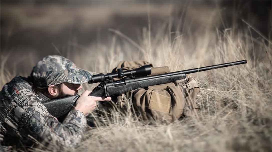 Bergara B14 Ridge Rifle aiming