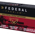 federal 224 valkyrie 90 grain sierra match king ammo