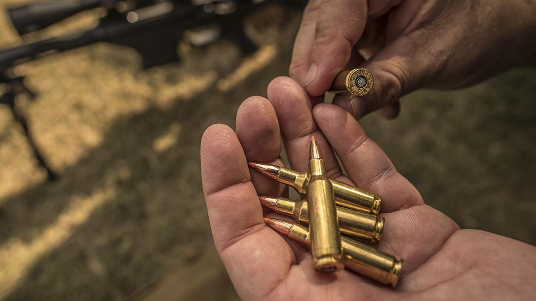 federal 224 valkyrie 90 grain sierra match king ammo closeup