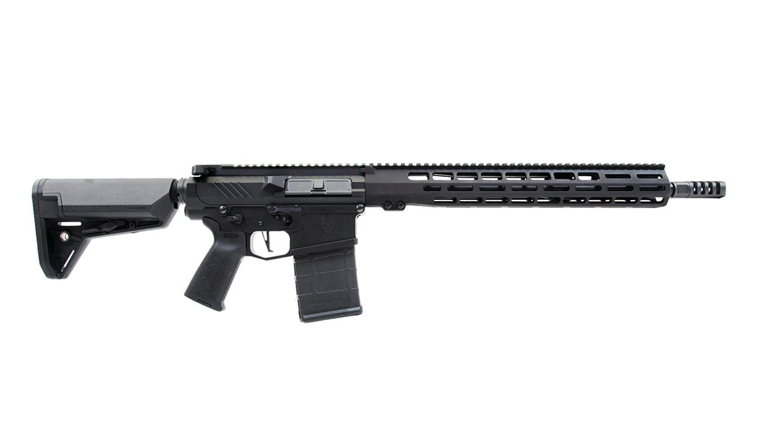 Grey Ghost precision GGP Heavy MKII rifle right profile