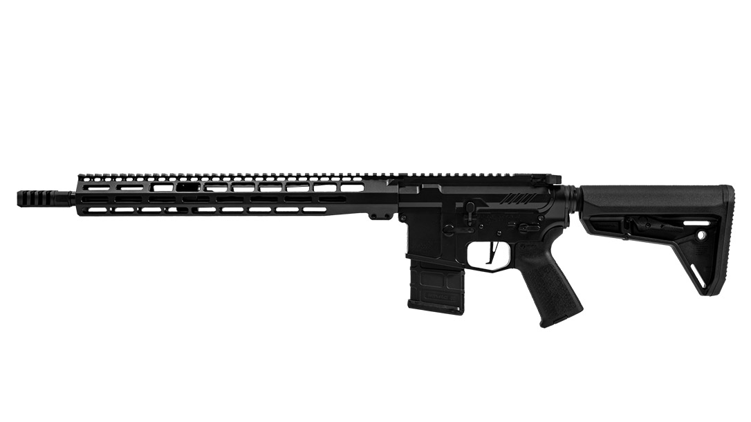 Grey Ghost precision GGP light MKII rifle left profile