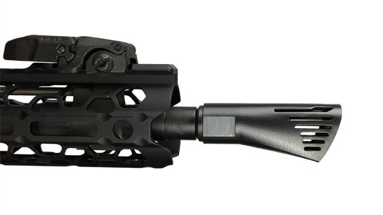 Walker Defense Research NERO 556 muzzle brake profile