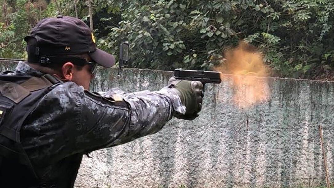 São Paulo Military Police glock 22 pistol