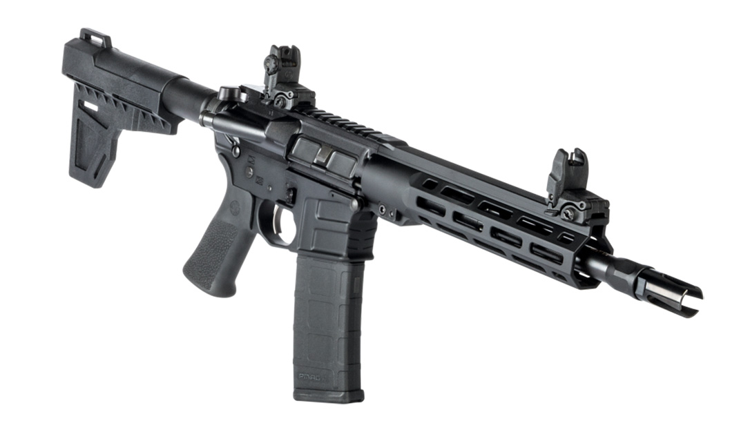 Savage MSR 15 Blackout pistol right angle