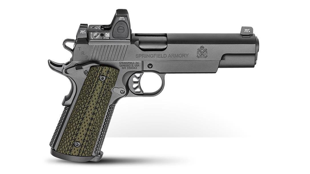 Springfield TRP RMR 10mm five-inch pistol right profile