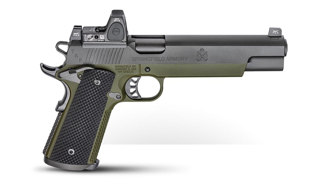 Springfield TRP RMR 10mm six-inch pistol right profile