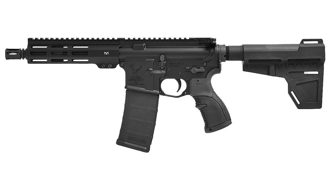 Stag 15 M-LOK AR Pistol 5.56 pistol left profile