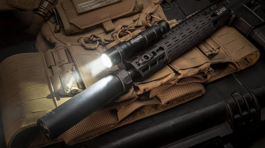 New From SureFire: 1,500 Lumen M600DF Dual Fuel Scout Light