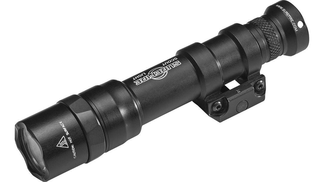 SureFire M600DF light left angle