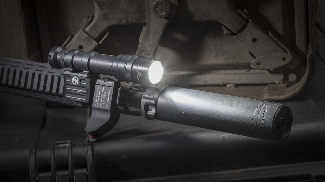 SureFire M600DF light beauty shot angle