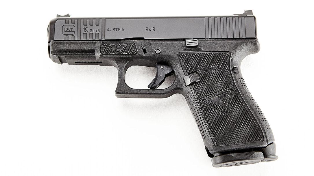wilson combat vickers elite glock 19 pistol left profile