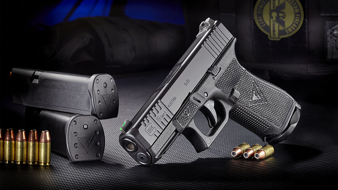 wilson combat vickers elite glock pistol beauty shot