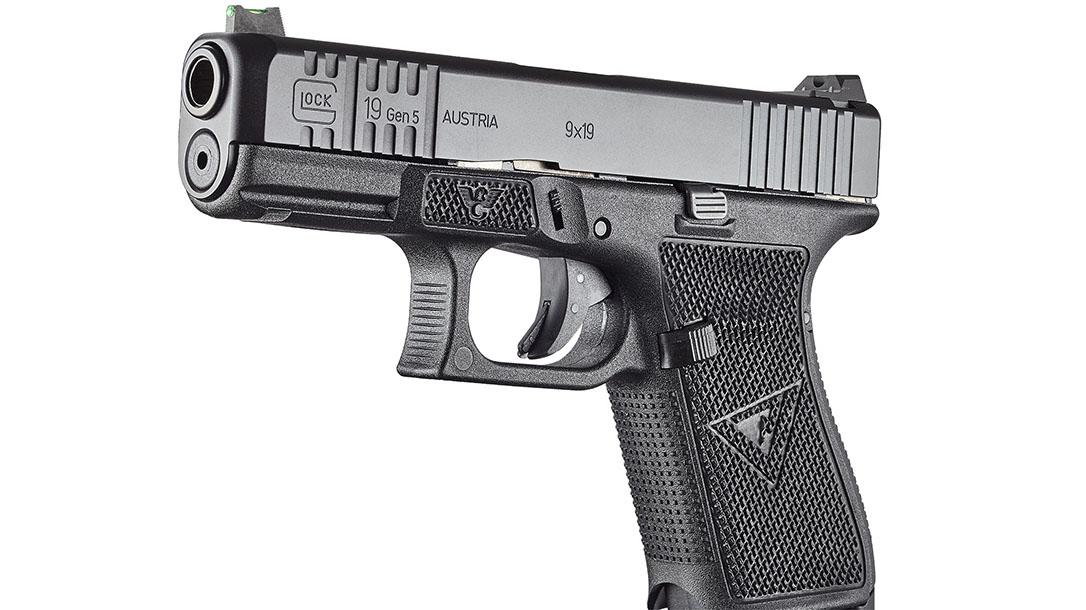 wilson combat vickers elite glock pistol left angle