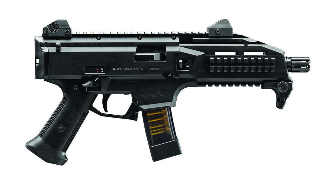 Army sub compact weapon, CZ Scorpion EVO 3 S1 Pistol