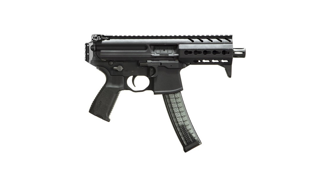 Army sub compact weapon, Sig Sauer MPX K right