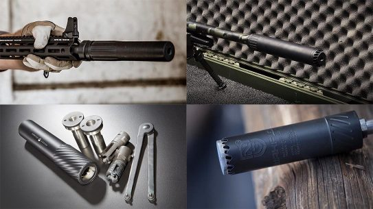 new rifle pistol suppressors
