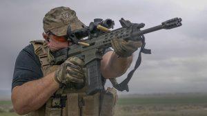 Robinson Arms XCR-M Rifle test, shooting, range
