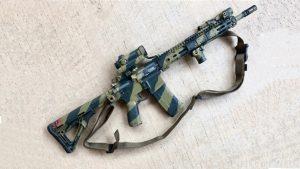 at armor rhodesian army camo paint carbine