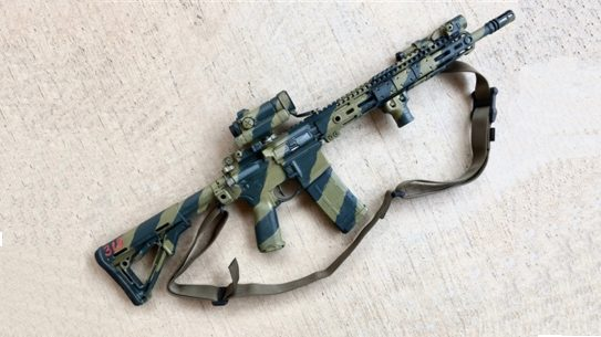 at armor rhodesian army camo paint carbine