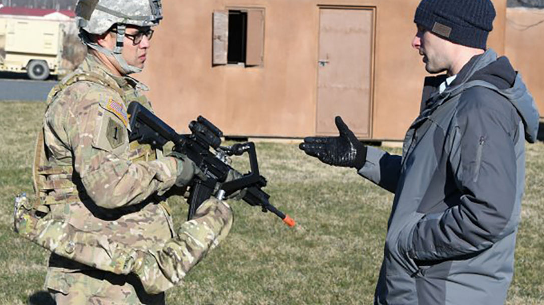 army third arm exoskeleton device instruction