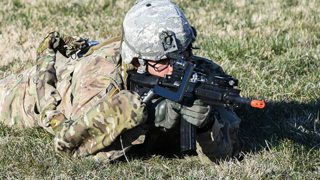 army third arm prone position